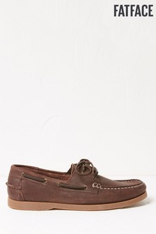 FatFace Dean Leather Boat Shoes