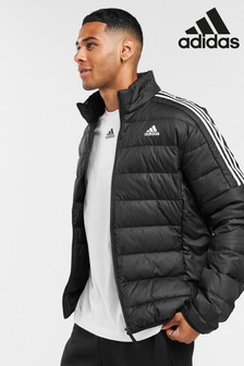 adidas Essential 3 Stripe Down Jacket