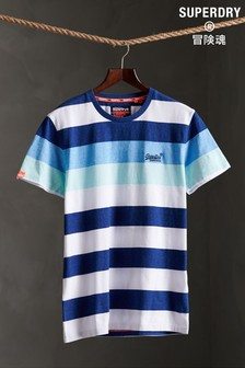 Superdry Blue Stripe T-Shirt