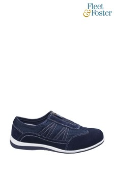 Fleet & Foster Blue Mombassa Comfort Shoes