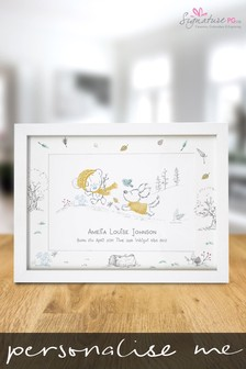 Personalised Tiny Tatty Teddy Storytime Print by Signature PG