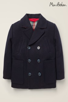 Boden Navy Wool Peacoat