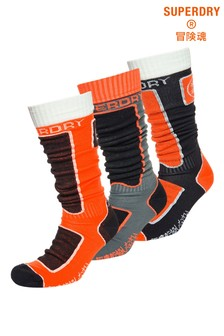 Superdry Snow Socks Triple Pack