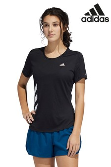 adidas Run It 3 Stripe T-Shirt