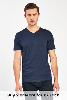 online store 30283 1bd1e V Neck T-Shirts for Men | Next Official Site