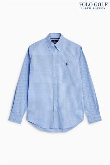 Polo Golf by Ralph Lauren Cotton Check Oxford Shirt