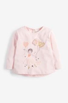 Tulle Ballerina T-Shirt (3mths-7yrs)