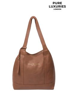 Pure Luxuries London Tan Colette Leather Handbag