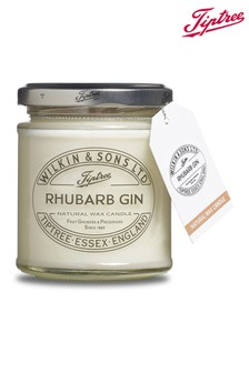 Rhubarb Gin Jam Jar Candle by Tiptree