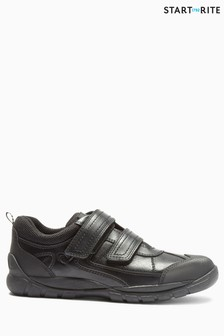 Start-Rite Black Rhino Oliver Velcro Shoe
