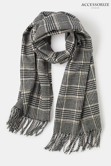 Accessorize Bowey Check Blanket Scarf