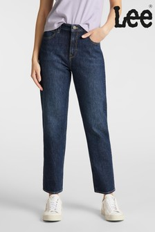 Lee Carol Cropped Straight Fit Jeans