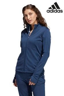 adidas Navy Golf Cold.Rdy Full Zip Jacket