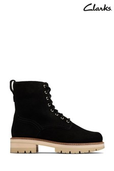 Clarks Black Sde Orianna Hi Boots