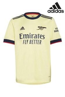 adidas Kids Arsenal Yellow Away 2122 Football Shirt