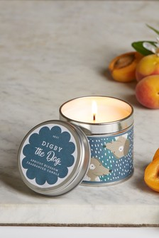 Digby The Dog Tin Candle
