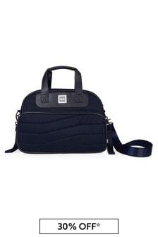 Boss Kidswear Navy Changing Bag