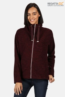 Regatta Purple Zaylee Full Zip Fleece
