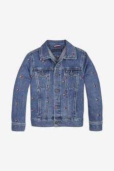 Tommy Hilfiger Kids Oversized Trucker Jacket