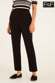 F&F Black Naples Trousers