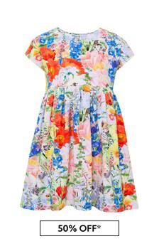 Molo Baby Multicoloured Cotton Dress