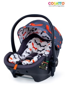 Cosatto RAC Port Isize 0+ Carseat Charcoal Mister Fox