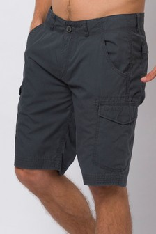 Animal Asphalt Grey Atlantas Walk Shorts