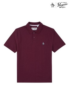 Original Penguin® Red Raised Rib Poloshirt