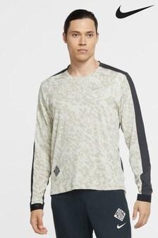 Nike Wild Run Element Print Crew Sweater