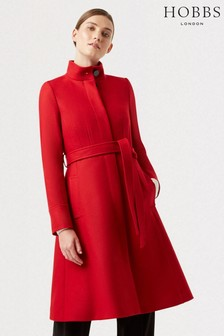 Hobbs Red Helen Coat
