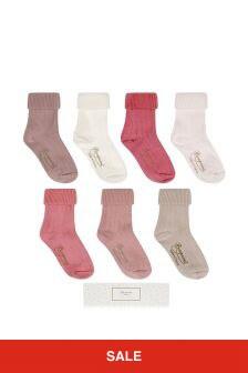 Bonpoint Baby Girls Pink Socks Gift Set