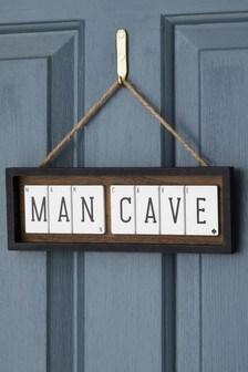 Man Cave Sign