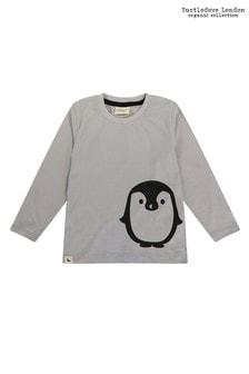 Turtledove London Grey Penguin Placement Top