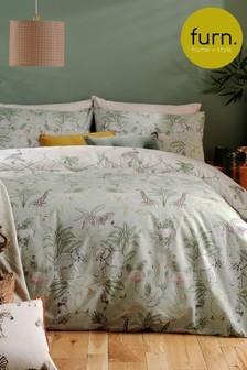 Serengeti Duvet Cover and Pillowcase Set by Furn