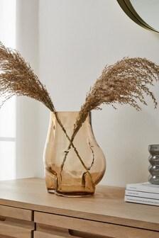 Glass Bottom Vase