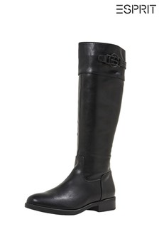 Esprit Black Jennifer Boots