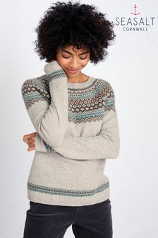 Seasalt Natural Seas Edge Jumper