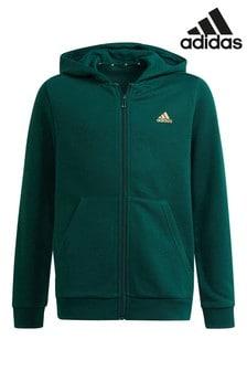 adidas Green Essential Hoodie