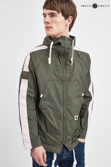 Pretty Green Green Wright Hooded Jacket