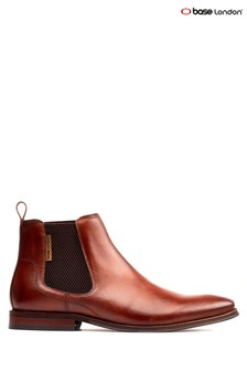 Base London Tan Sikes Chelsea Boots