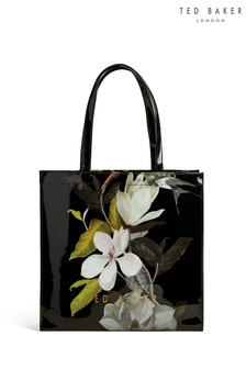 Ted Baker Black Large Icon Shopper Bag