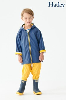 Hatley Blue Classic Splash Jacket
