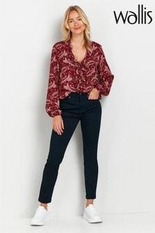 Wallis Petite Blue Skinny Jeans