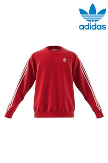 adidas Originals 3 Stripe Crew Sweater