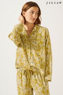 Jigsaw Yellow French Peony Pyjama