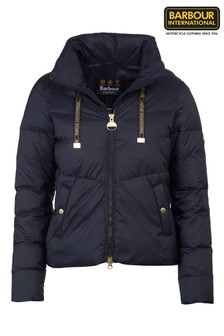 Barbour® International Padded Cropped Kendrew Jacket