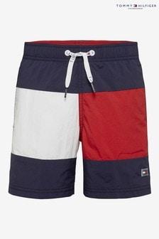 Tommy Hilfiger Boys Medium Drawstring Swim Short