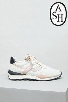 Ash Spider White And Black Trainers