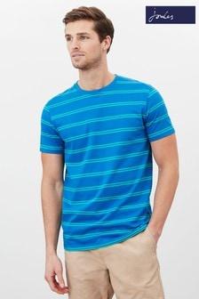 Joules Blue Boathouse Stripe T-Shirt