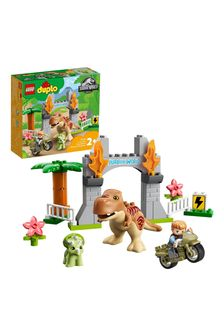 LEGO 10939 DUPLO T. rex and Triceratops Dinosaur Toy